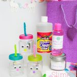 DIY Birthday Gift ~ Make this Cute Slime for Kids Gift