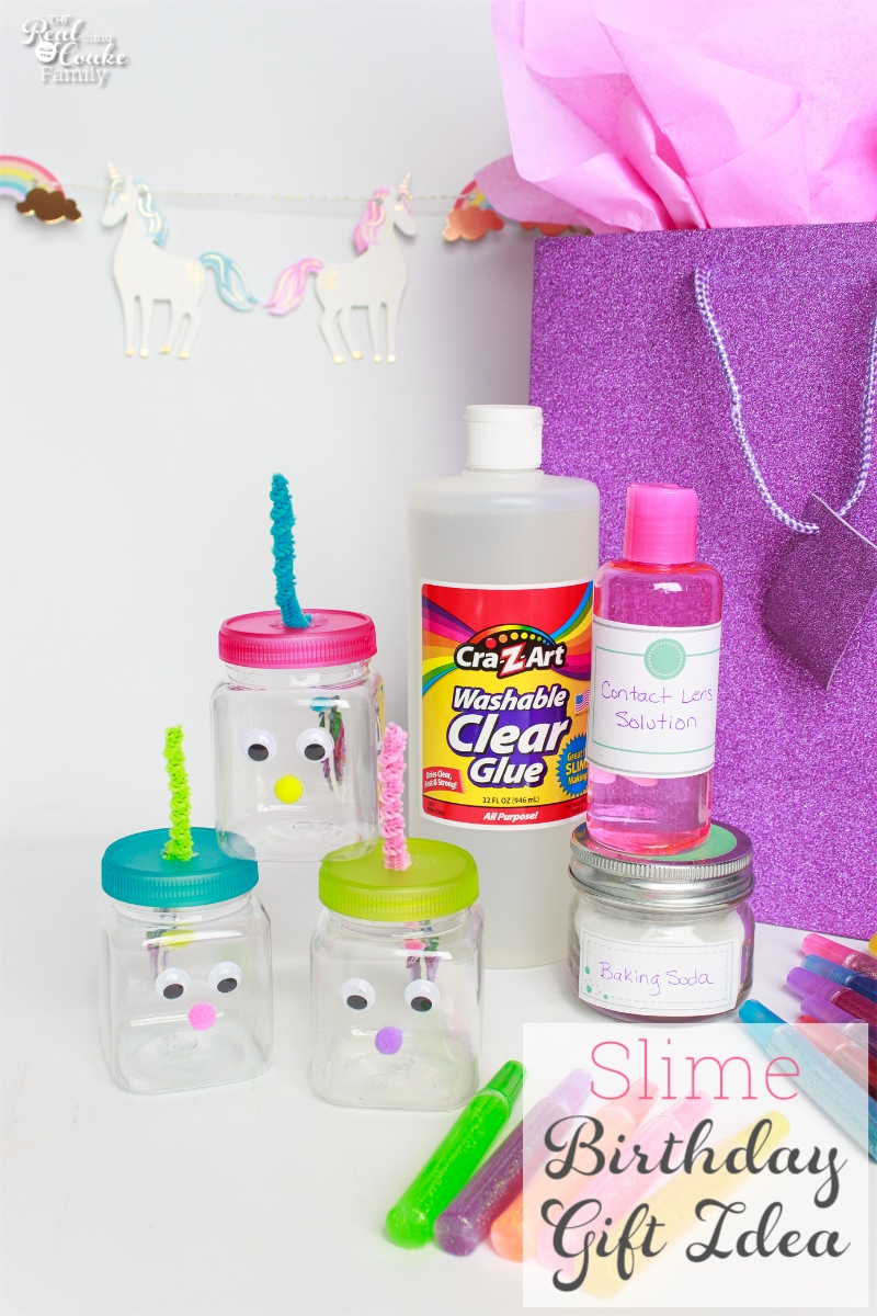 Diy Birthday Gift Make This Cute Slime For Kids Gift