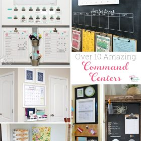 Over 10 Great DIY Family Command Centers