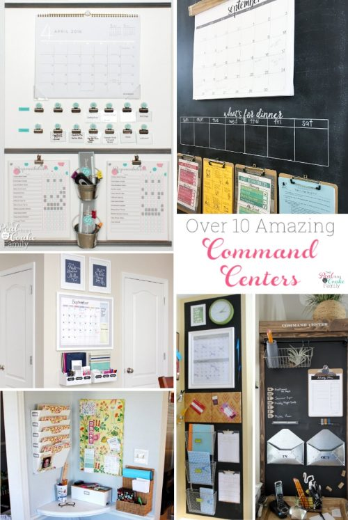 Over 10 Great Diy Family Command Centers For Any Home