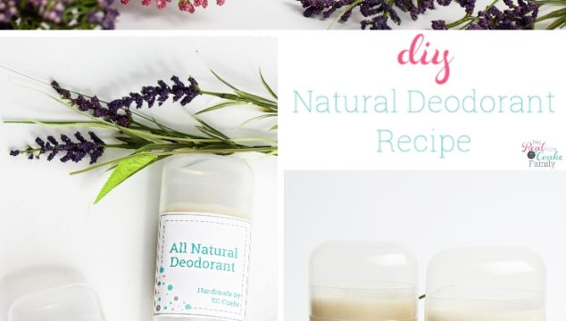 How to Make Deodorant that Really Works with this All Natural Deodorant Recipe