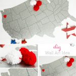 Add Cuteness with this Simple DIY Wall Art Idea