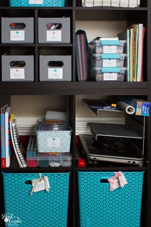 Craft Closet Organization Ideas Part - 36: Great Small Space Craft Organization And Storage Ideas. DIY Ideas For Using  A Cabinet To