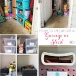 How to Organize Garage Storage (or a Shed)