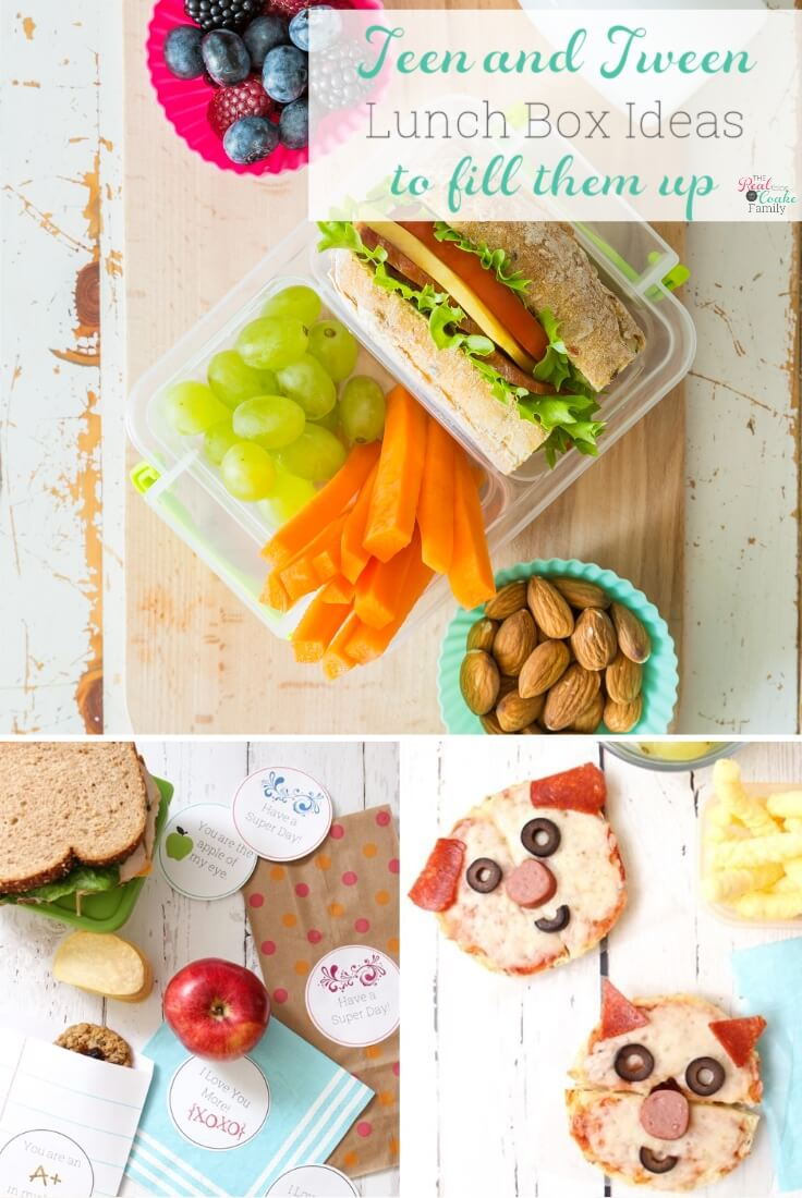 9 school lunch ideas to fill up your teen or tween - the real thing