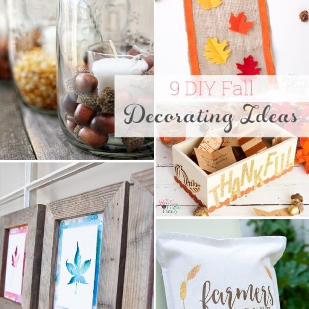 9 Great DIY Fall Decor Ideas