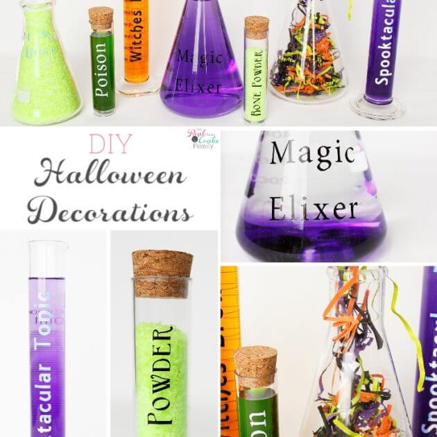 Fun Science Themed DIY Halloween Crafts and Decorations