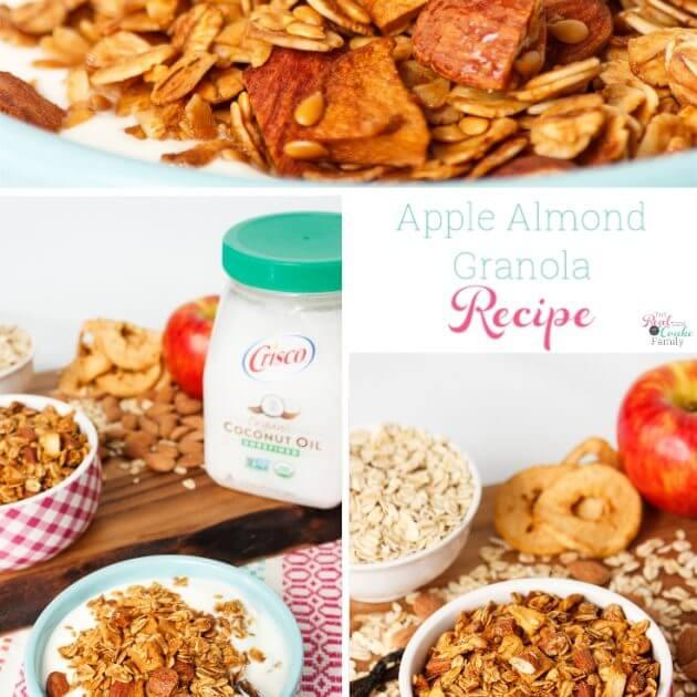 Homemade Apple and Almond Granola Recipe