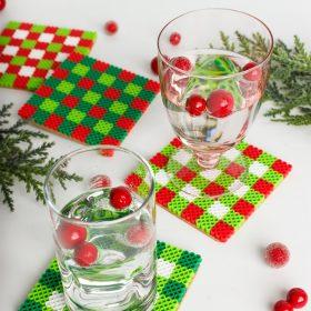 DIY Coasters ~ A Cute Christmas Craft Idea