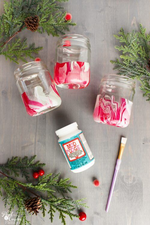 Such cute upcycled crafts! I find making these DIY Christmas home decor crafts so cheap