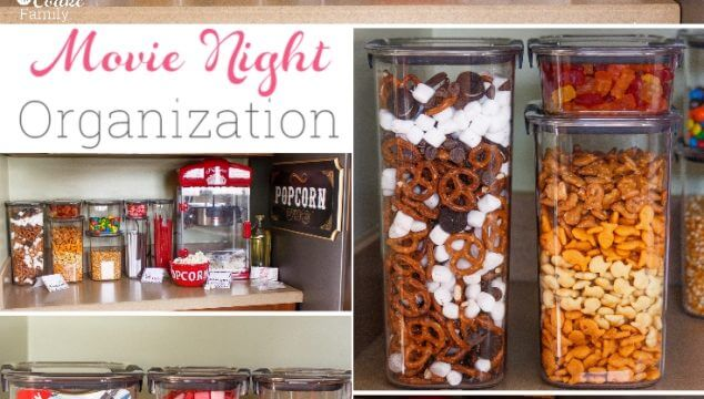 Family Movie Night Organization Ideas