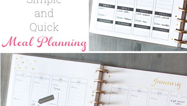 Great post showing how to meal plan for busy moms. Shows how to plan for the week using a printable planner and has great tips and ideas for the family. #MealPlanning #Organization #MenuPlan #RealCoake