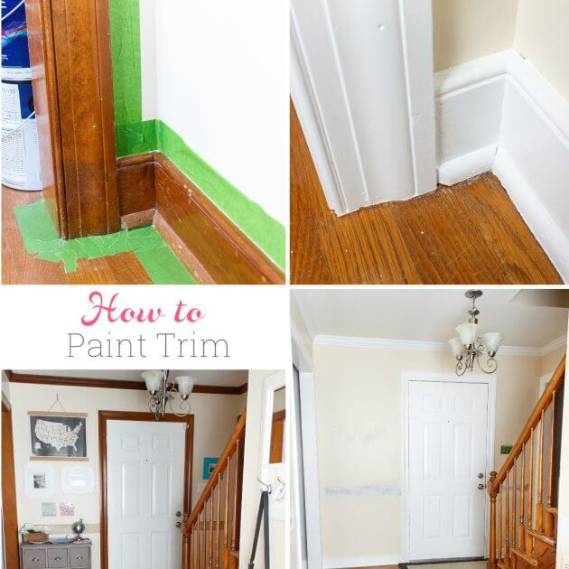 How to Paint Trim