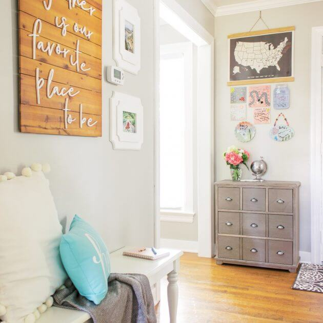 My Hallway Makeover and Entryway Ideas