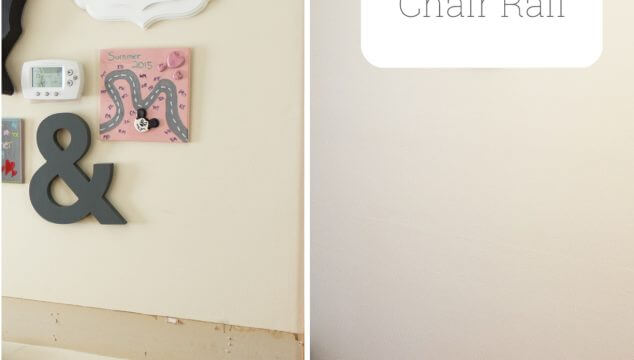 How to Paint After Removing Chair Rail