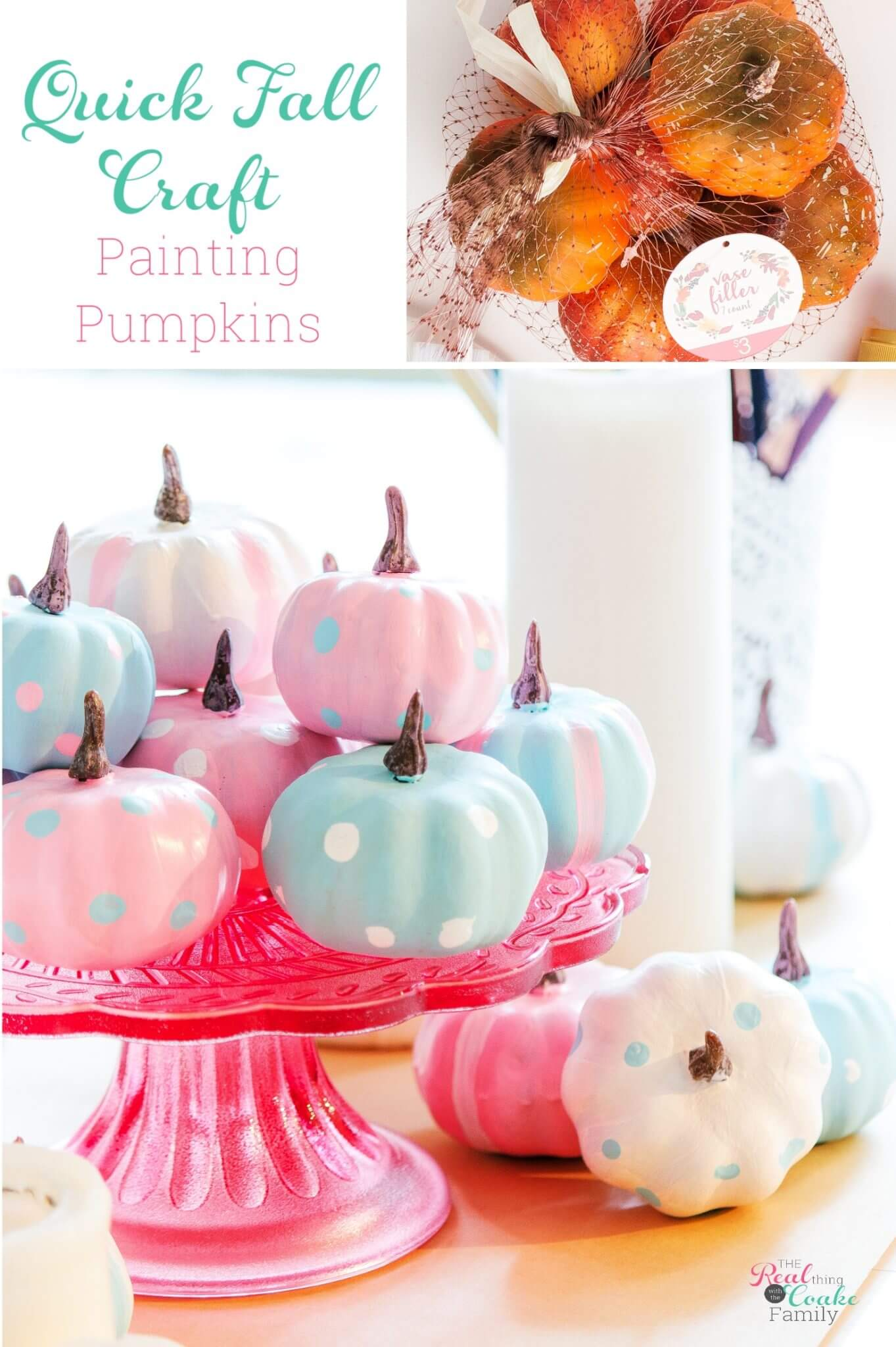 3 Easy Steps to Craft Bliss with these Pumpkin Painting