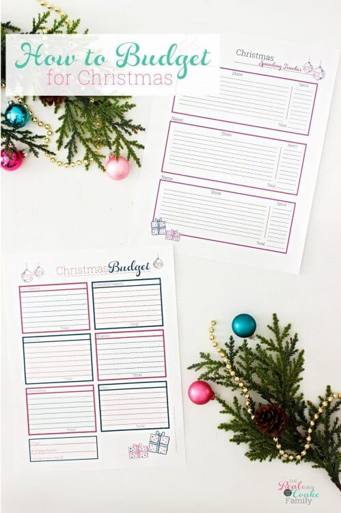 Do this for a stress-free holiday season. Learn how to budget for Christmas in a few steps with worksheets for a happier holiday season next year.