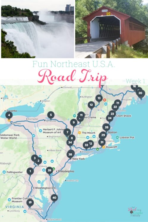 Northeast Road Trip >> Fun Northeast Usa Family Road Trip Week 1 The Real Thing With
