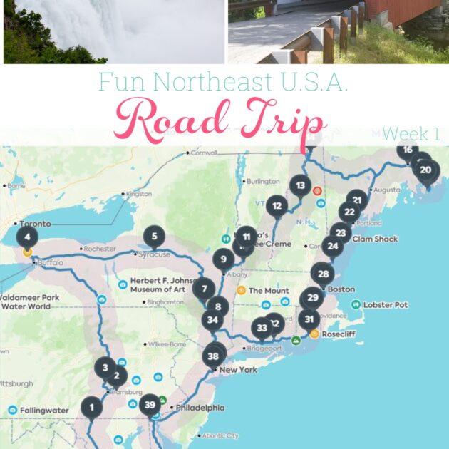 Fun Northeast USA Family Road Trip – Week 1