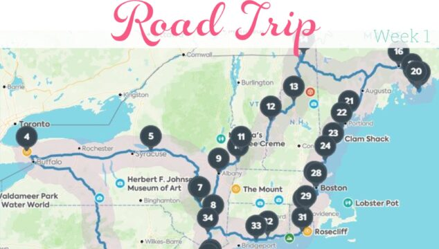 Fun Northeast USA Family Road Trip – Week 1