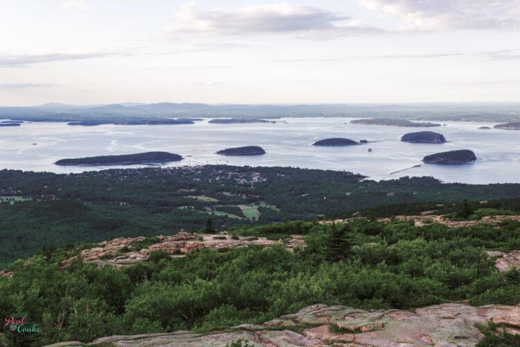 Views from Cadillac Mountain at Acadia National Park