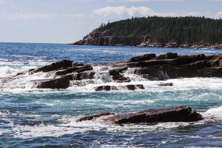 ocean at Acadia National Park