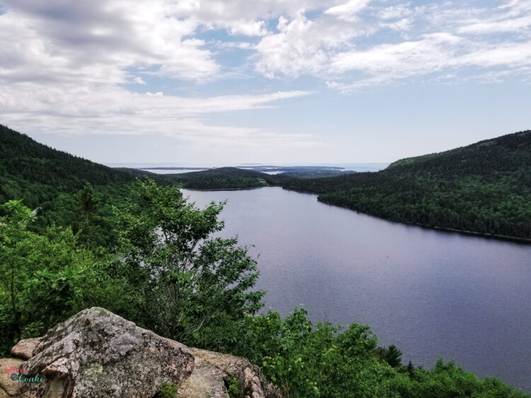 View from Bubble Rock at Acadia National Park