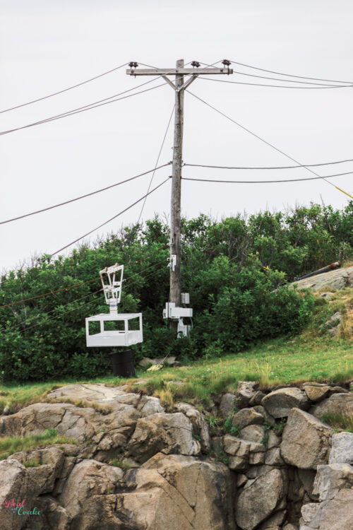 lift used to get across to Cape Neddick Lighthouse