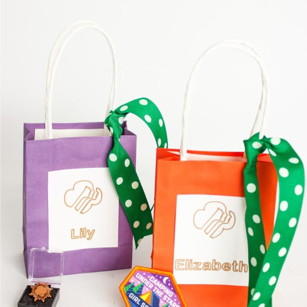 Easy to Make Award Ceremony Badge Presentation Bags