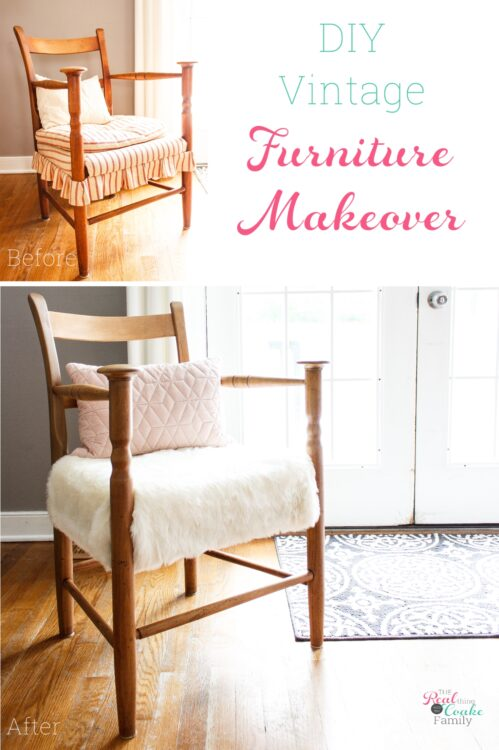 How To Refinish Furniture Diy Chair Makeover The Real Thing With