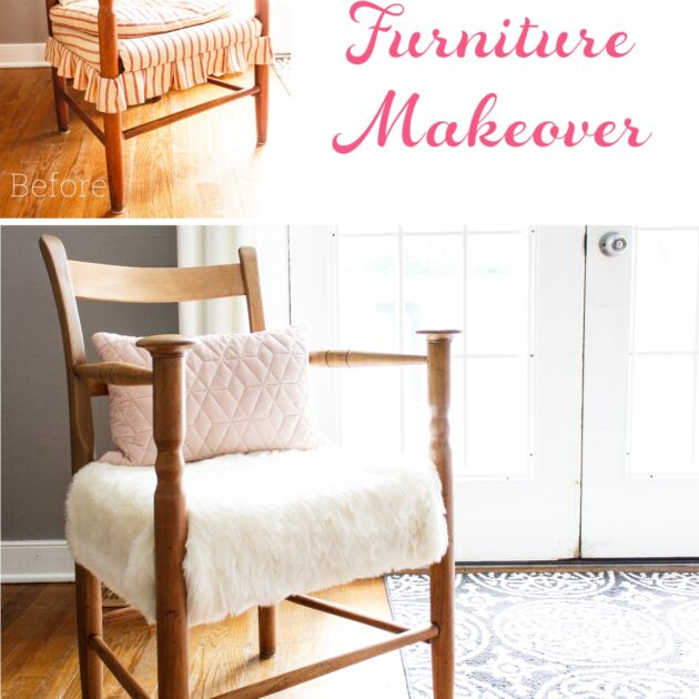 How to Refinish Furniture – DIY Chair Makeover
