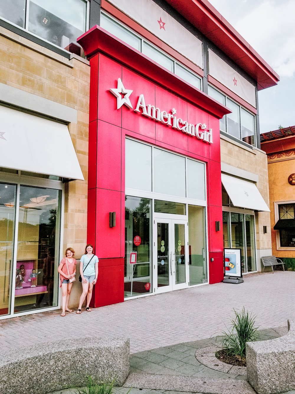 American Girl Store front Boston, Massachusetts
